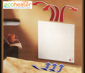 ECO-heater wall panel heater
