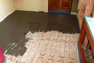 Heated Bathroom Floor Cost Nice Look Awesome Ideas