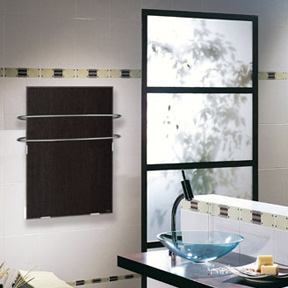 Climastar bathroom heater with towel warmer