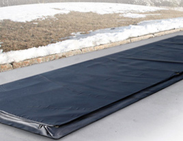 Powerblanket concrete curing mat