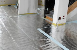 FoilHeat radiant floor heating system