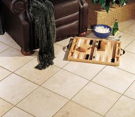 Heated Tile Floor