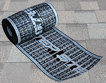 Low-voltage roof heating element