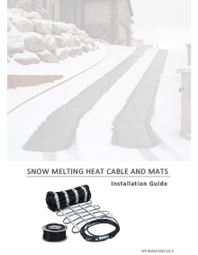 ClearZone Snow Melting System Installation Manual
