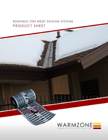RoofHeat STEP low voltage roof heating product sheet cover