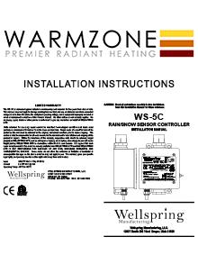 WS-5C Aerial Snow Sensor Installation Instructions
