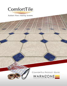 ComfortTile floor heating system product guide.