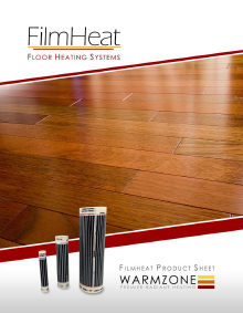 FilmHeat floor heating systems technical guide