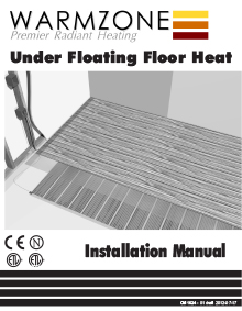 RetroHeat floor heating system installation manual