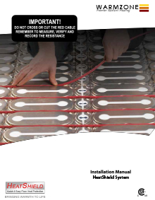 HeatShield Floor Heating Panels Installation Manual