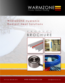 Hydronic radiant heat systems product guide