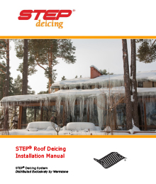 Low-voltage RoofHeat STEP roof deicing system installation manual