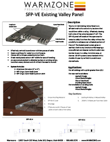 Roof deicing heating panels for heating roof valleys