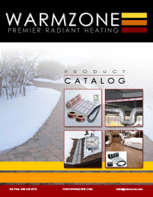 Warmzone radiant heat product catalog