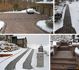 Custom heated driveways and sidewalks