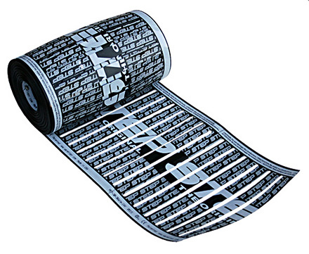 Low-voltage radiant heating element.