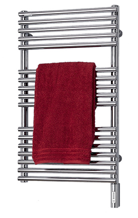 Bathroom radiator with towel warmer