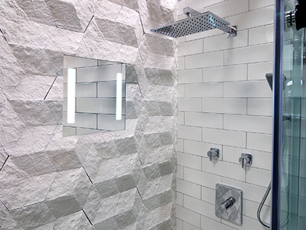 ShowerLite clear mirror