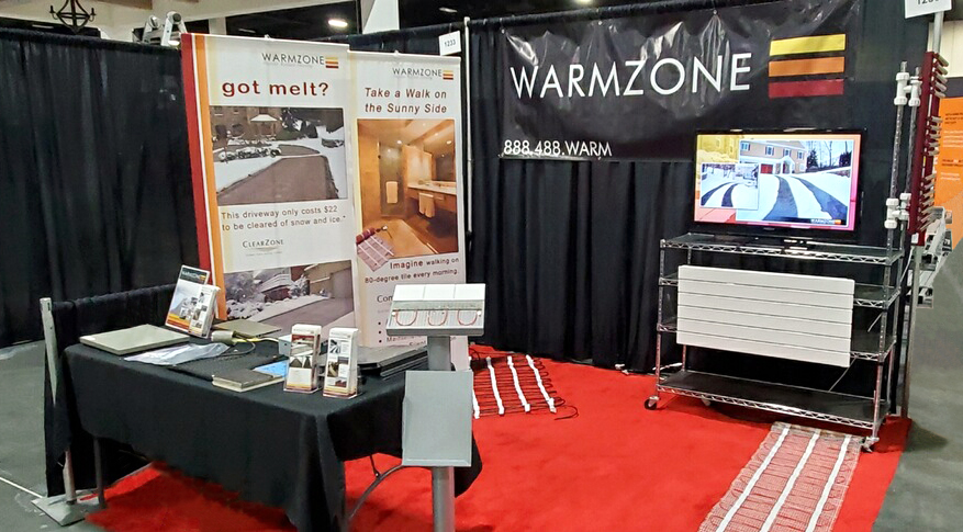 Warmzone booth 2019 Deseret News Home Show