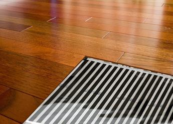 Heat hardwood floors with Warmzone's FilmHeat