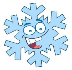 Illustration of Sid the snowflake