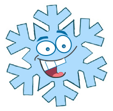 Illustration of Sid the snowflake for roof de-icing article