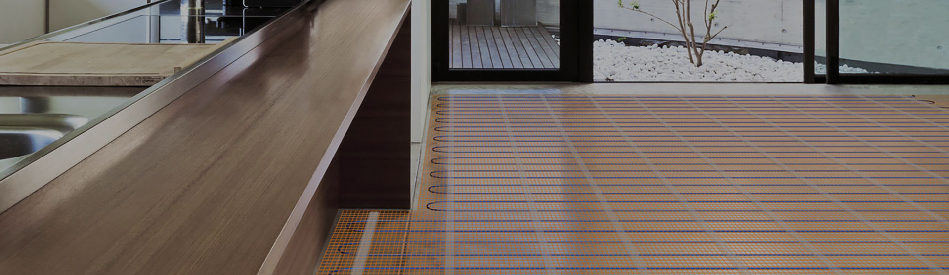 Radiant heated floors banner